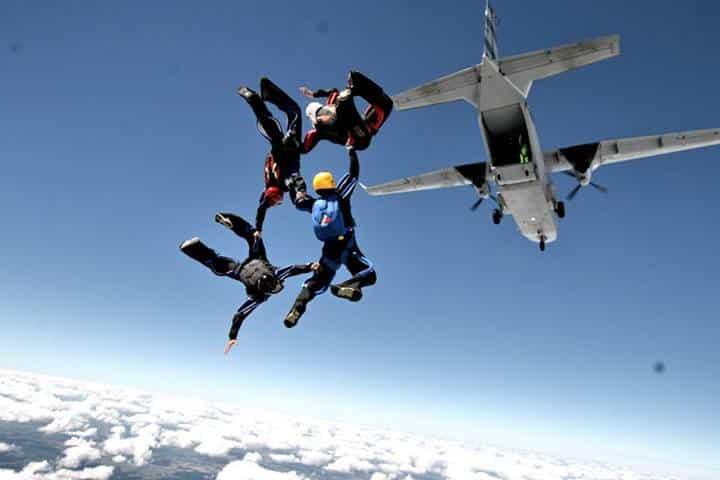 saut en parachute briancon