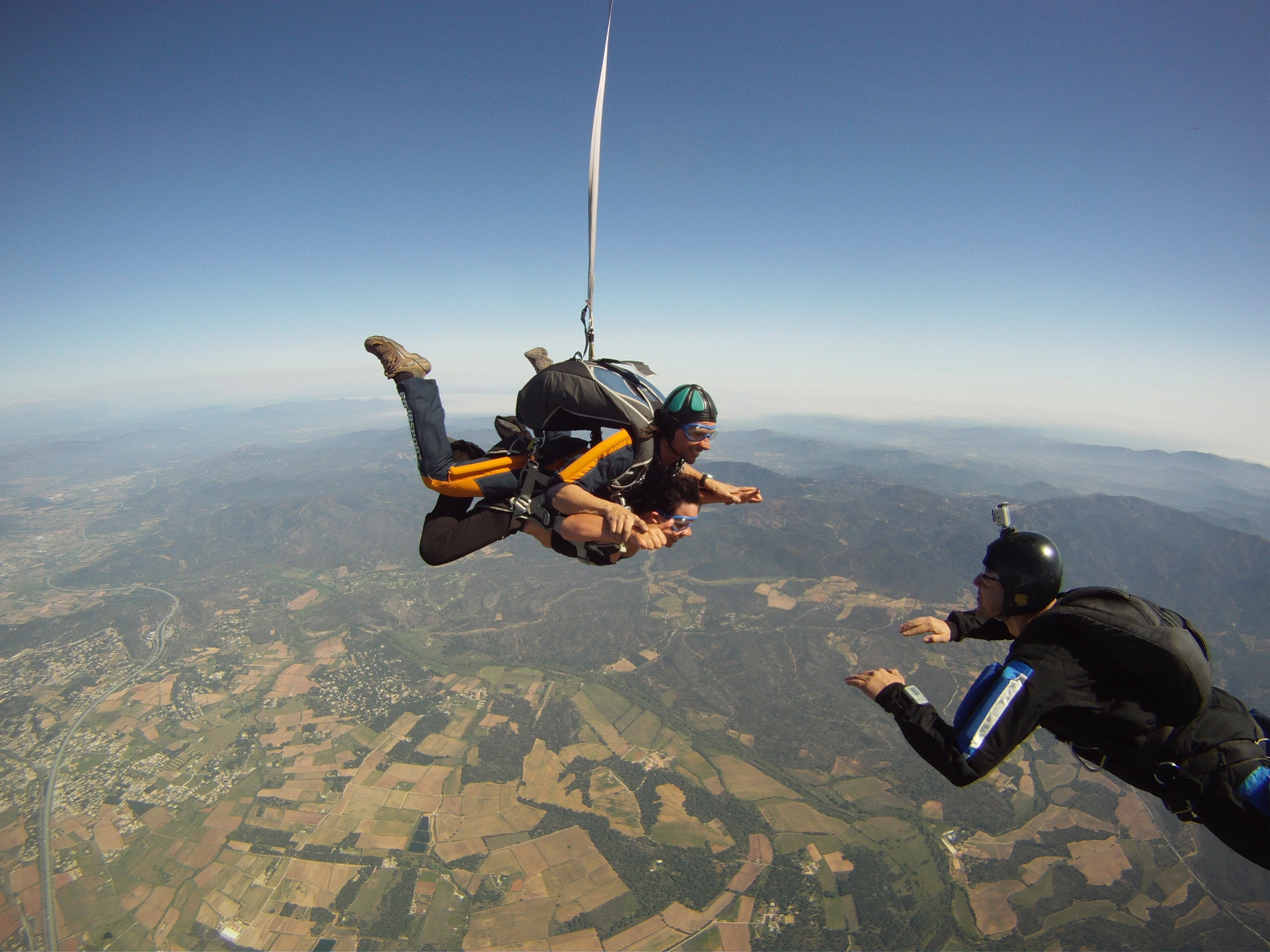 saut en parachute provence
