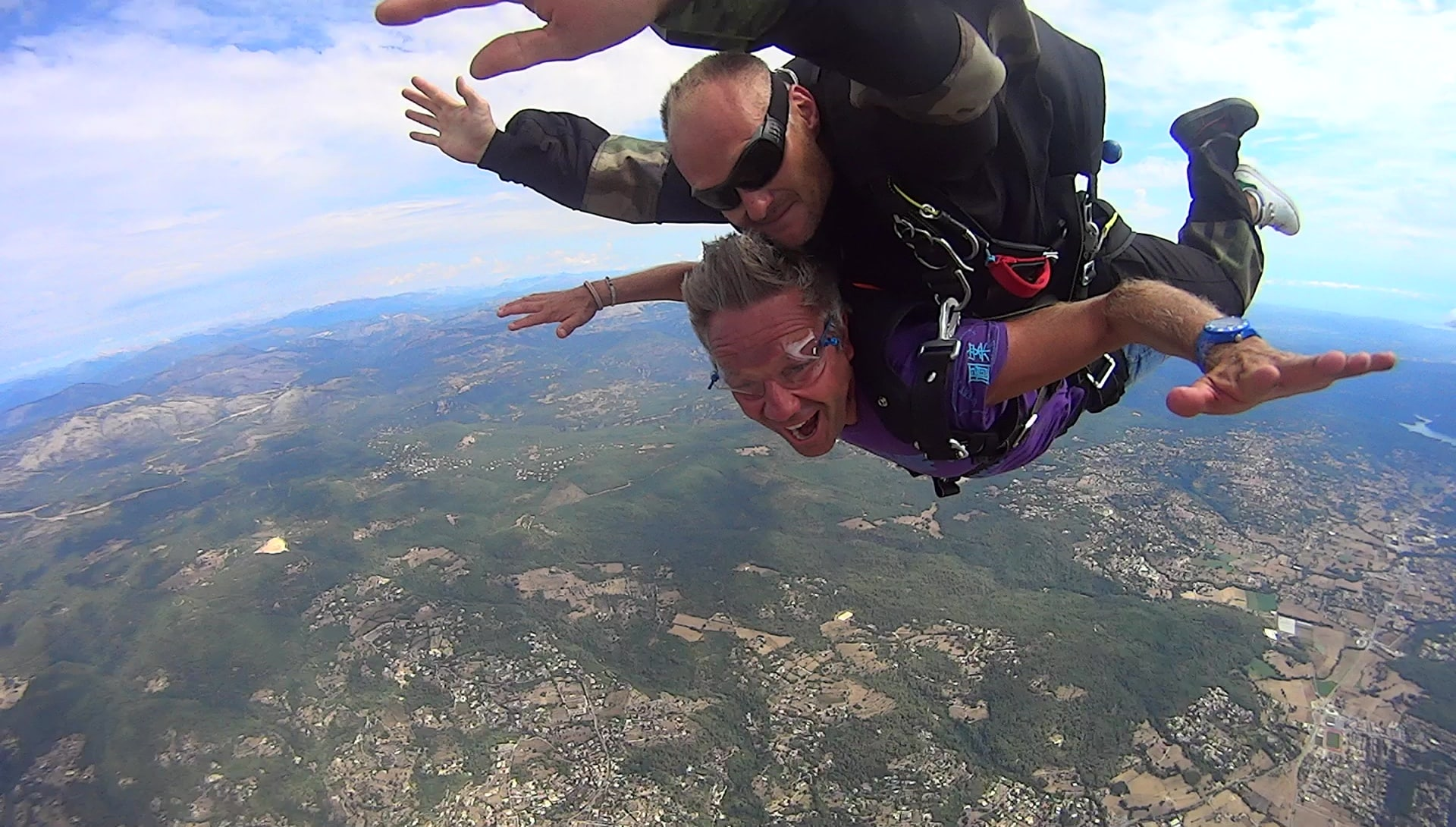 saut en parachute octobre