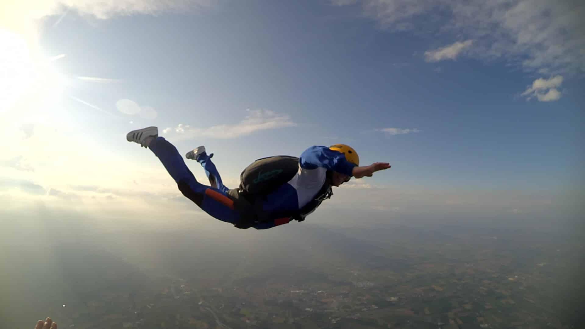 saut en parachute garzigliana